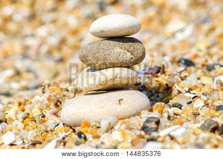 relaxation and meditation through simplicity harmony and the stone of balance lead to health and well-being