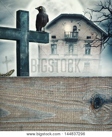 Halloween Mystical Spooky Background
