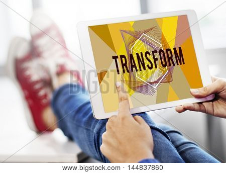 Transform Create Design Style Word Concept