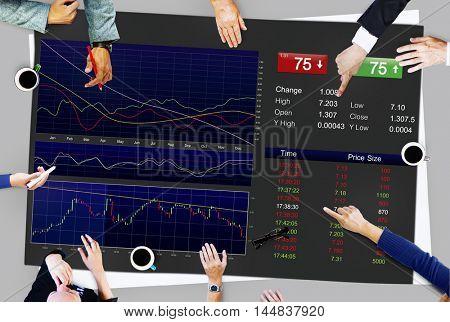 Stock Marketing Trade Economic Finance Money Concept