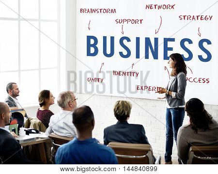Business Work Success Strategy Concept