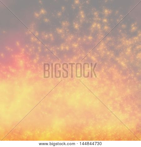 sparks of molten metal blurred background with a light tone