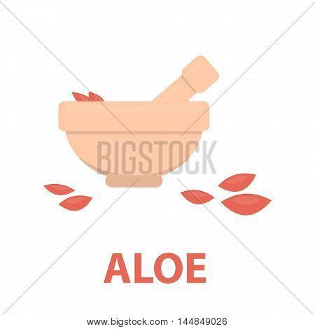 Salt bowl icon of vector illustration for web and mobile design