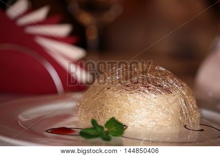 Cheesecake Flambe