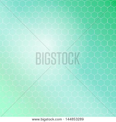seamless hexagon vector pattern with white lines