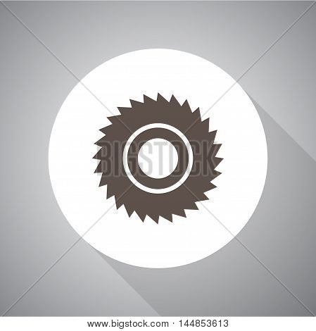saw vector icon for web and mobile