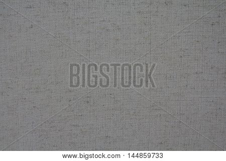 canvas fabric textured with good structure grey