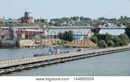 Birsk City On The River