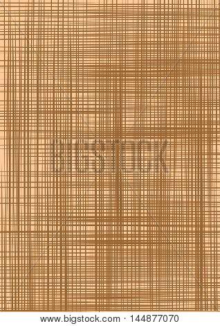 Sacking. Beige backgrounds imitating fabric. Vector illustration