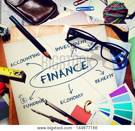 Finance Funding Commerce Business Concept