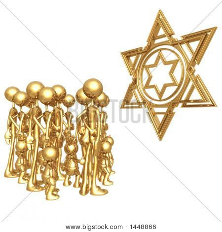 Star Of David Gathering