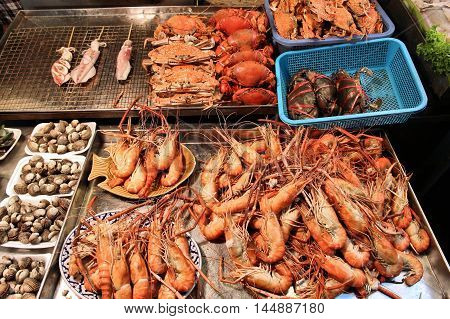 Seafood In Thailand