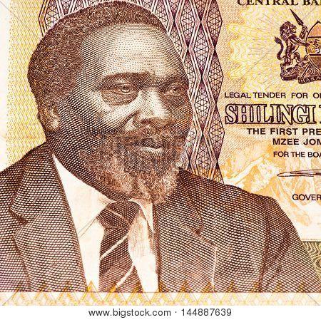 1000 Kenyan shillings bank note of Kenya. Kenyan shilling is the national currency of Kenya