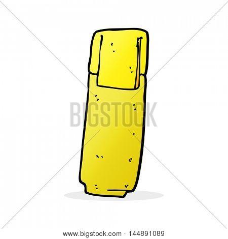 cartoon marker pen