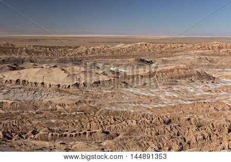 View from Valle de la Muerte (Death Valley), Atacama Desert, Chile