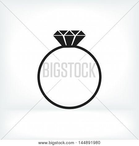 Ring Vector Icon