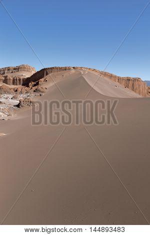 Sand Dune, Valle de la Luna (Moon Valley), Atacama Desert, Chile