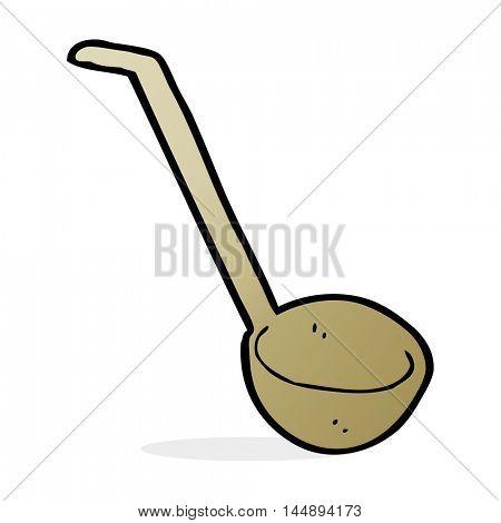 cartoon ladle