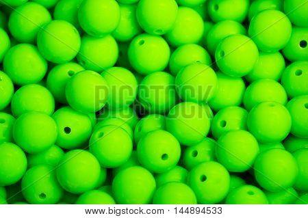 Green Green Green Green Green Green beads background