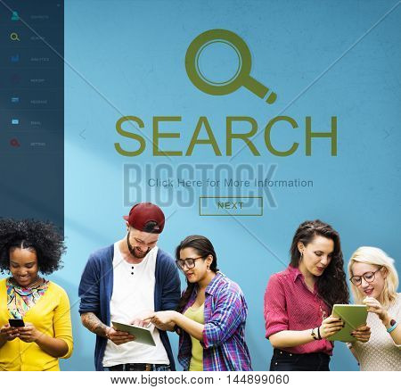 Search Magnifying Exploration Finding Browse Concept