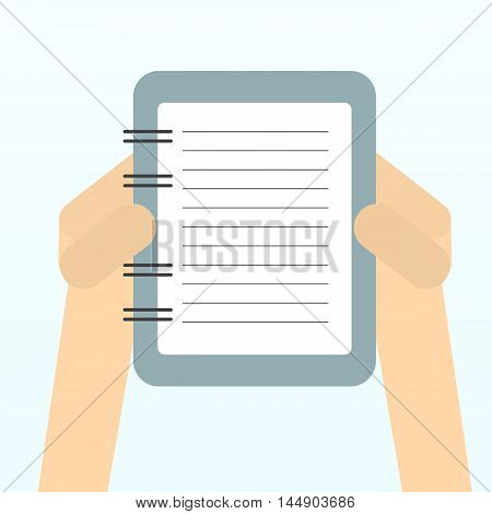 Paper sheet, hands, paperwork, consultant business adviser financial audit