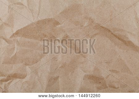 Kraft paper texture for background or wallpaper.