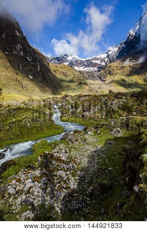 Collanes Valley in El Altar volcano Sangay National Park, Ecuadorian Andes.