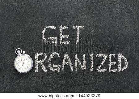 Get Organized Watch
