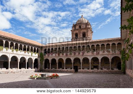Templo De Santo Domingo, Cusco Peru