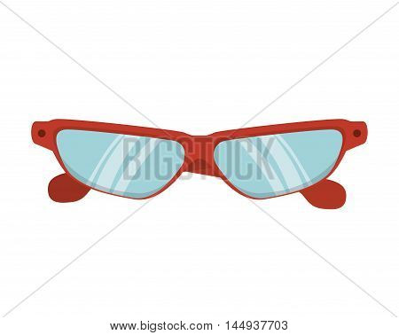 glasses  sport  wear protection equipment vision lens vector illustration