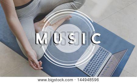 Music Multimedia Radio Party Lifestyle Concept