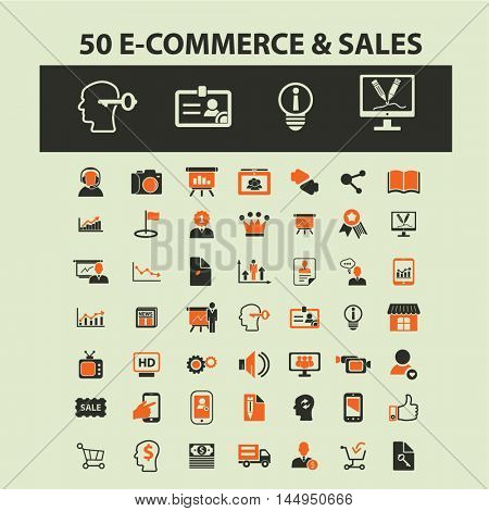 e-commerce & sales icons