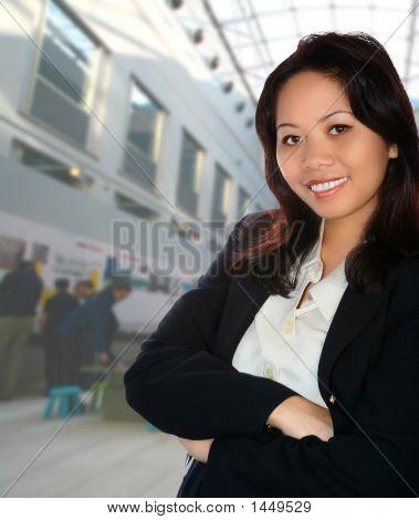 Confident Asian Businesswoman