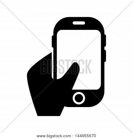 smartphone phone mobile cellular technology and communication device vector illustration