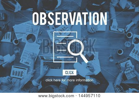 Observation Research Investigation Discovery Concept