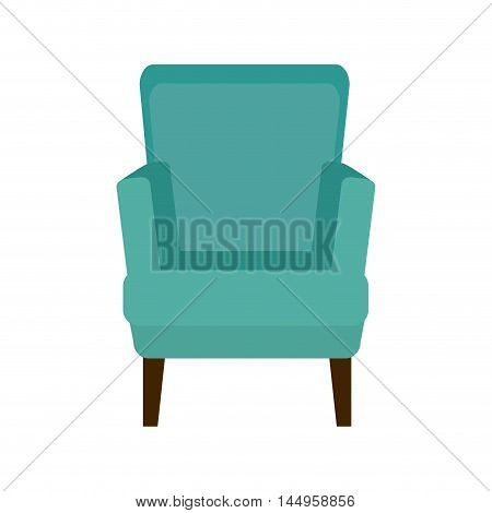 armchair comfortable seat classic furniture home decoration