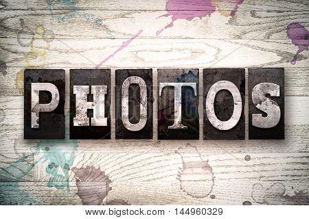 Photos Concept Metal Letterpress Type