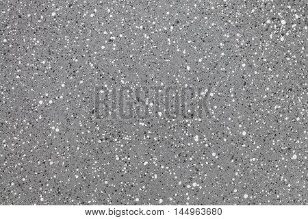 Gray quartz surface for bathroom or kitchen white countertop. High resolution texture and pattern.