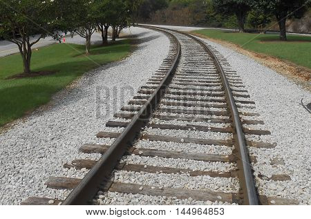 A  Bending  Track  on  the  East  Side  of  Chattanooga,  Tennessee.
