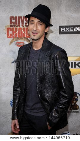 Adrien Brody at the 2010 Guys Choice Awards held at the Sony Pictures Studios in Culver City, USA on June 5, 2010.
