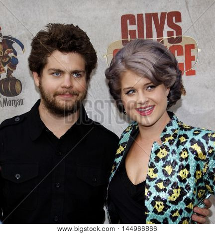 Jack Osbourne and Kelly Osbourne at the 2010 Guys Choice Awards held at the Sony Pictures Studios in Culver City, USA on June 5, 2010.