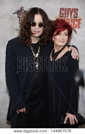 Ozzy Osbourne and Sharon Osbourne at the 2010 Guys Choice Awards held at the Sony Pictures Studios in Culver City, USA on June 5, 2010.