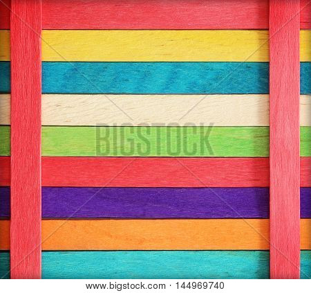 Wooden wall texture background colorful wood background