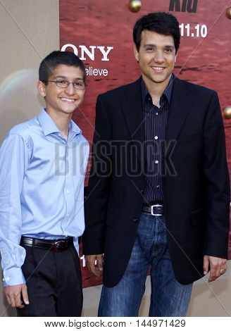 Ralph Macchio at the Los Angeles premiere of 'The Karate Kid' held at the Mann Village Theater in Westwood, USA on June 7, 2010.