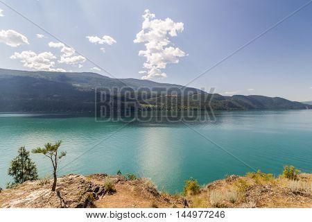 Kalamalka Lake In British Columbia