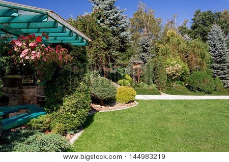 Beautiful Pergola In Garden Design