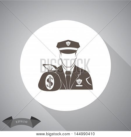 Security  Vector icon for web and mobile.