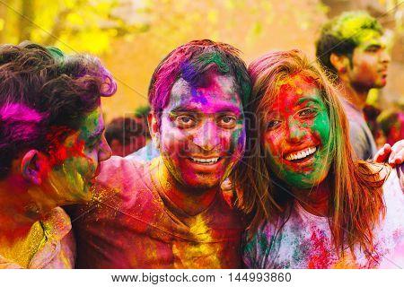 Holi Festival. Happy Holi!