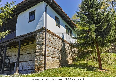 Medieval building in Temski monastery St. George, Pirot Region, Republic of Serbia