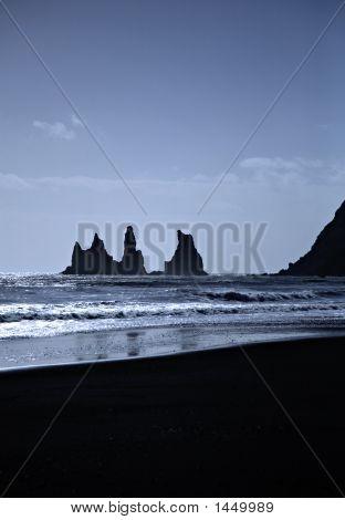 Sea Stacks Iceland